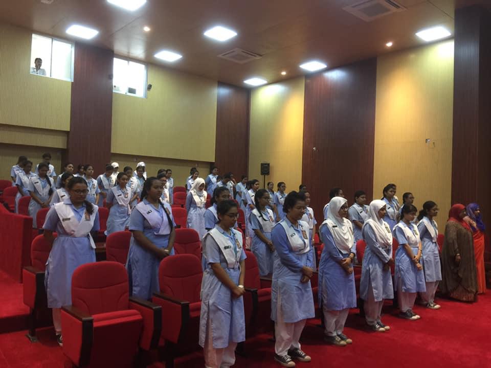 চলচ্চিত্র প্রদর্শনীতে অংশ নেয় ভিকারুন্নিসা নূন স্কুল অ্যান্ড কলেজ এর শিক্ষার্থীবৃন্দ|